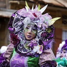 CSG 112 265x265 - Carte postale Carnaval