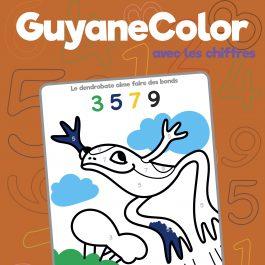 COLORIAGE CHIFFRES 21x27 COUV 265x265 - GuyaneColor avec les chiffres