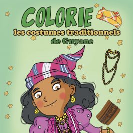 Colorie les costumes traditionnels de Guyane