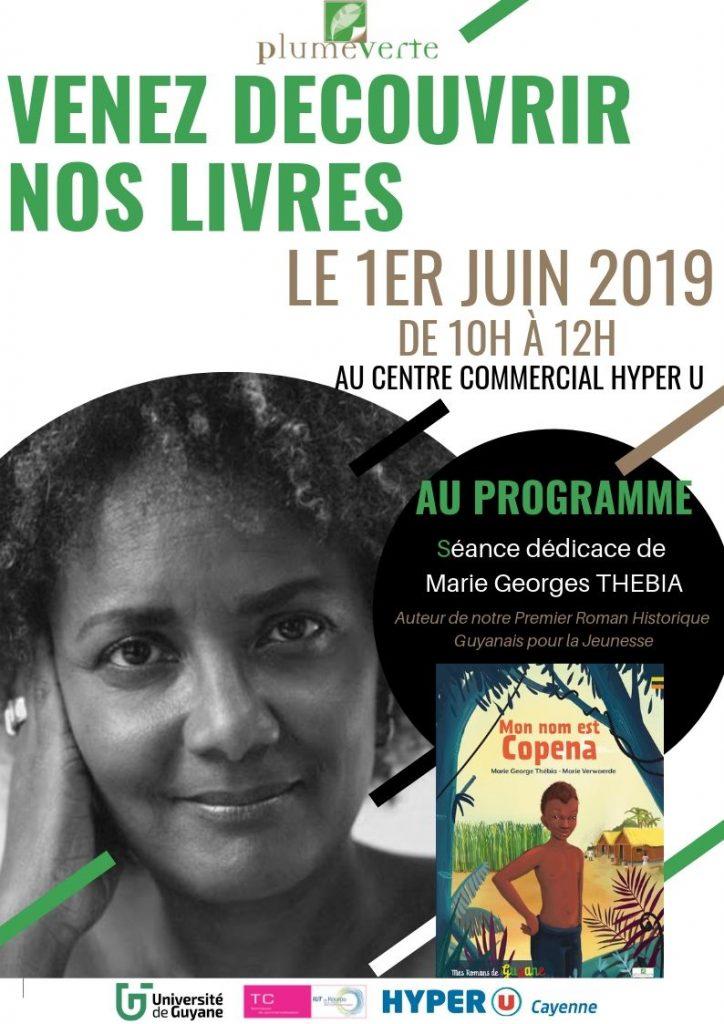 ACTION 1ER JUIN JPG 724x1024 - Dédicaces de Marie George Thébia