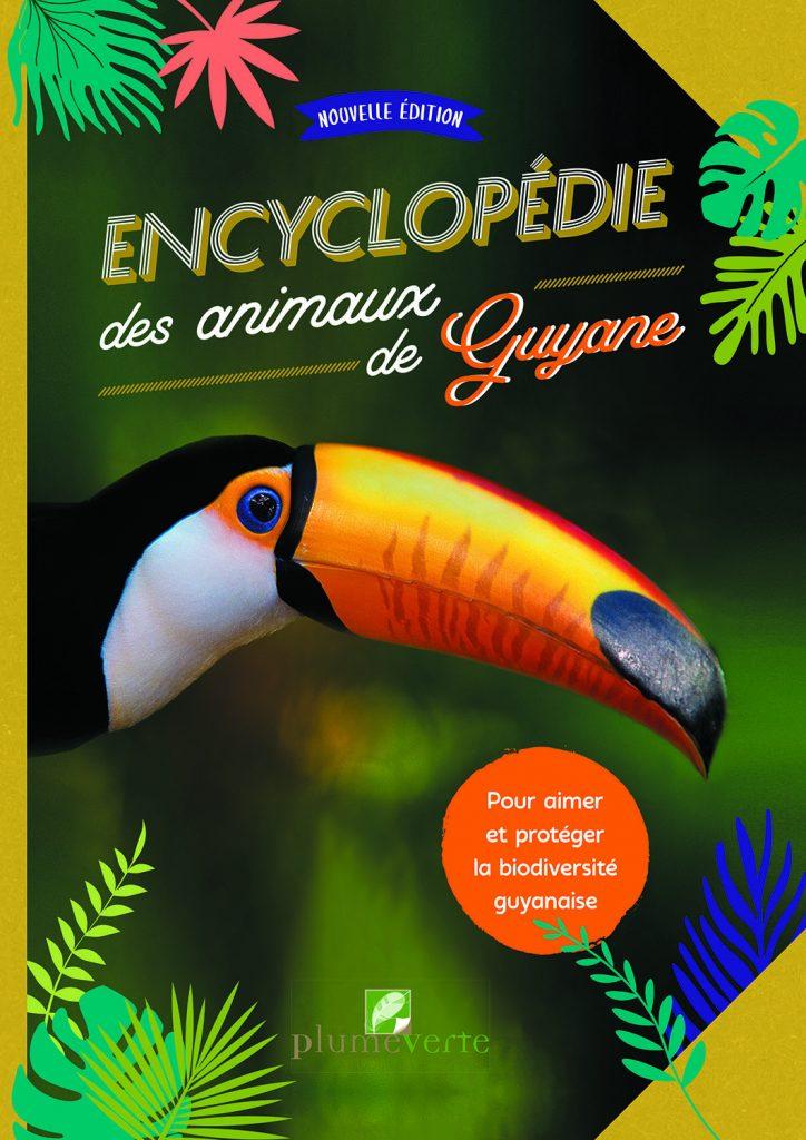 Encyclopédie des animaux de Guyane, couverture