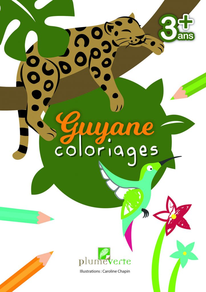 Guyane coloriages