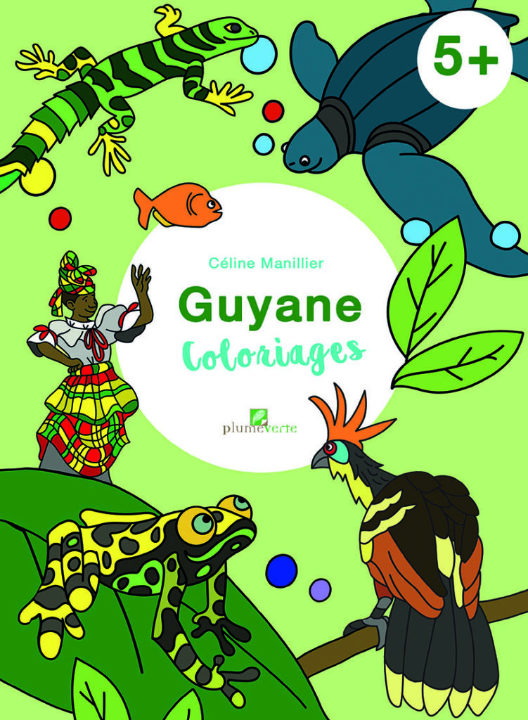 Guyane coloriages 5+