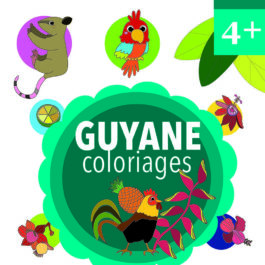 Guyane coloriages 4+